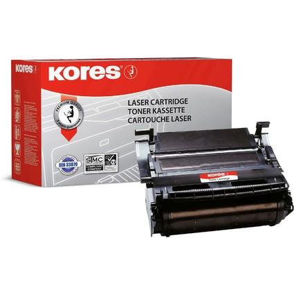 Kores Toner G857HCRB ersetzt LEXMARK 1382625, schwarz
