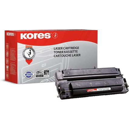 Kores Toner G866RB ersetzt hp C3903A/C3155A, schwarz