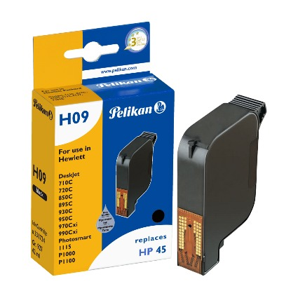 Pelikan wiederbefüllte Tinte 331724 ersetzt hp 51645A/