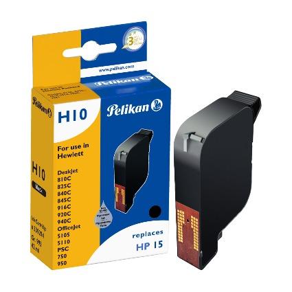Pelikan wiederbefüllte Tinte 339294 ersetzt hp C6615D/N