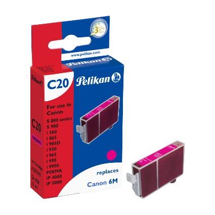 Pelikan Tinte 339393 ersetzt Canon BCI-6M, magenta