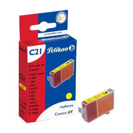 Pelikan Tinte 339409 ersetzt Canon BCI-6Y, gelb