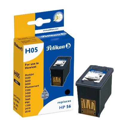 Pelikan wiederbefüllte Tinte 341464 ersetzt hp C6656A/Nr.56