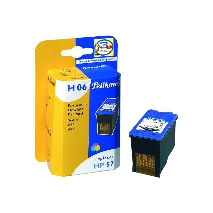 Pelikan wiederbefüllte Tinte 341471 ersetzt hp C6657A/Nr.57