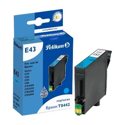 Pelikan Tinte 342409 ersetzt EPSON T0442, cyan, HC