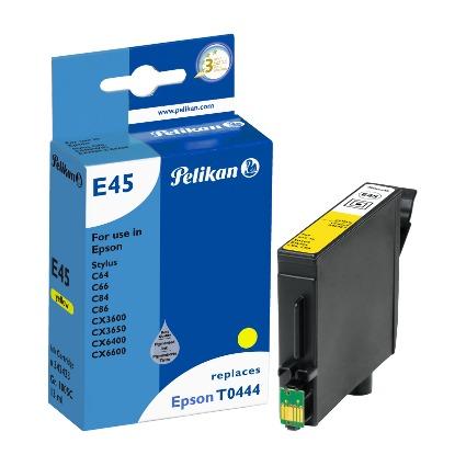 Pelikan Tinte 342423 ersetzt EPSON T0444, gelb, HC