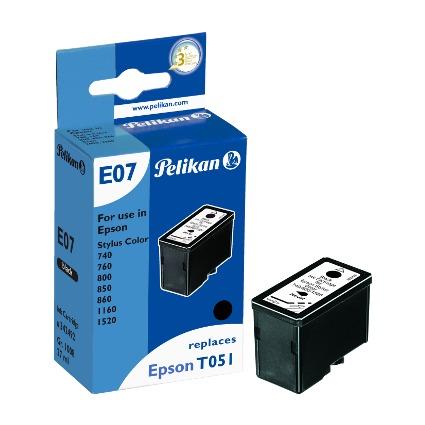 Pelikan Tinte 342492 ersetzt EPSON T0511, schwarz