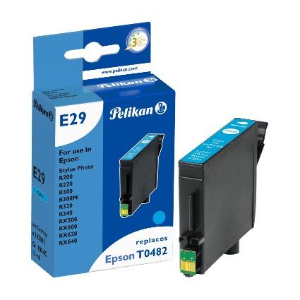 Pelikan Tinte 343895 ersetzt EPSON T0482, cyan