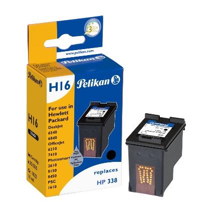 Pelikan wiederbefüllte Tinte 351555 ersetzt hp C8765A/Nr.338