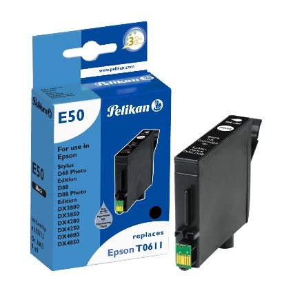 Pelikan Tinte 352712 ersetzt EPSON T0611, schwarz
