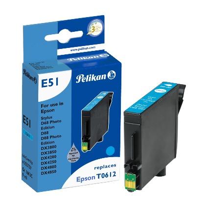 Pelikan Tinte 352729 ersetzt EPSON T0612, cyan