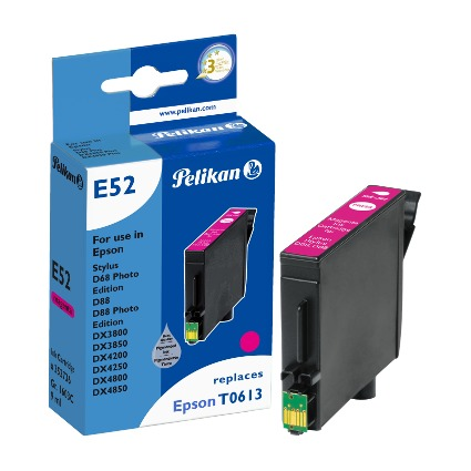 Pelikan Tinte 352736 ersetzt EPSON T0613, magenta