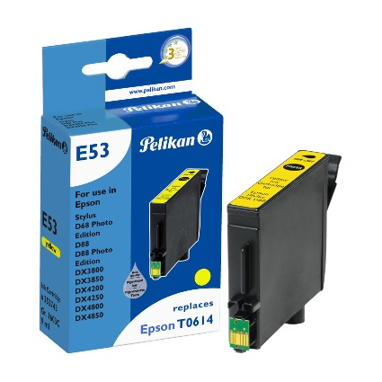 Pelikan Tinte 352743 ersetzt EPSON T0614, gelb