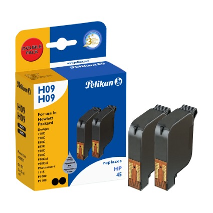 Pelikan Multi-Pack Tinte 359537 ersetzt hp 51645AE/Nr.45