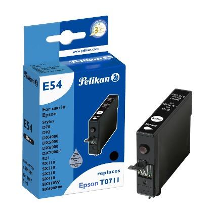 Pelikan Tinte 359544 ersetzt EPSON T0711/T0891, schwarz