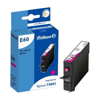 Pelikan Tinte 359742 ersetzt EPSON T0803, magenta