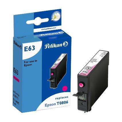 Pelikan Tinte 359773 ersetzt EPSON T0806, light magenta