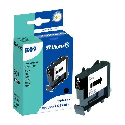 Pelikan Tinte 360588 ersetzt brother LC-970BK, schwarz