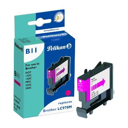 Pelikan Tinte 360601 ersetzt brother LC-970M, magenta