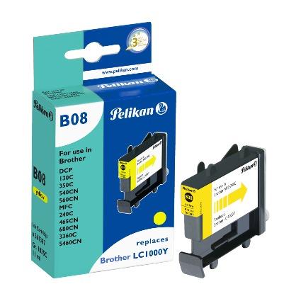 Pelikan Tinte 361387 ersetzt brother LC1000Y, gelb