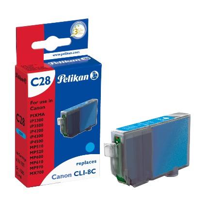Pelikan Tinte 361707 ersetzt Canon CLI-8C, cyan
