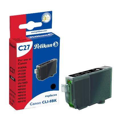 Pelikan Tinte 361752 ersetzt Canon CLI-8BK, schwarz