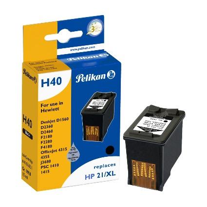 Pelikan wiederbefüllte Tinte 4101631 ersetzt hp C9351CE/