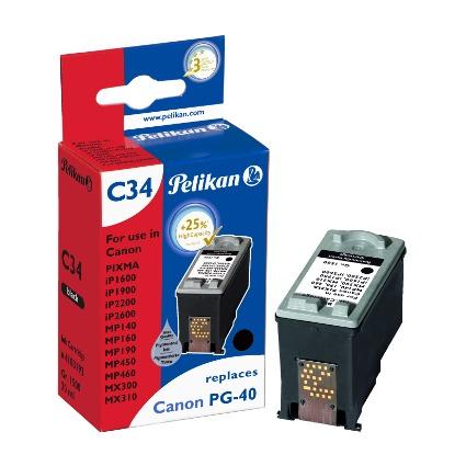 Pelikan Tinte 4103192 ersetzt Canon PG-40, schwarz