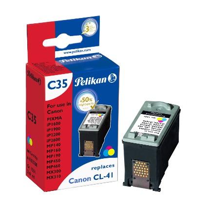 Pelikan Tinte 4103208 ersetzt Canon CL-41, farbig