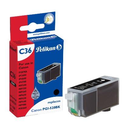 Pelikan Tinte 4103239 ersetzt Canon PGI-520BK, schwarz
