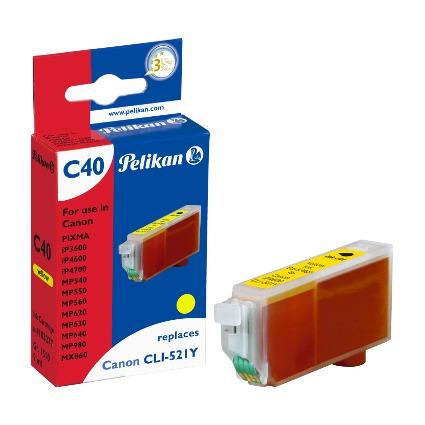 Pelikan Tinte 4103277 ersetzt Canon CLI-521Y, gelb