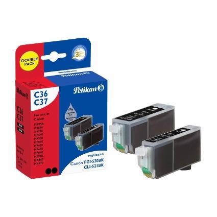 Pelikan Multi-Pack Tinte 4105615 ersetzt Canon PGI-520BK/