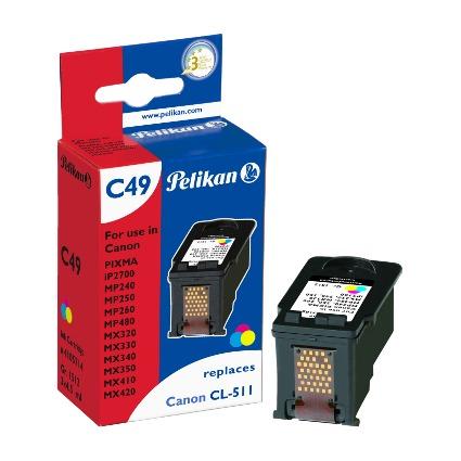 Pelikan Tinte 4105714 ersetzt Canon CL-511, farbig