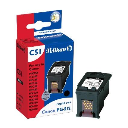 Pelikan Tinte 4105721 ersetzt Canon PG-512, schwarz