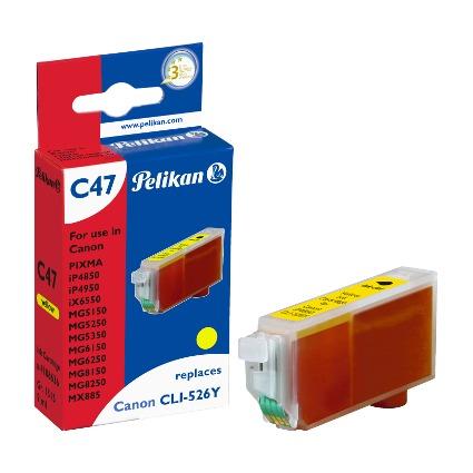 Pelikan Tinte 4106636 ersetzt Canon CLI-526Y, gelb