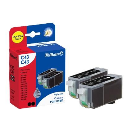 Pelikan Multi-Pack Tinte 4106643 ersetzt Canon PGI-525BK