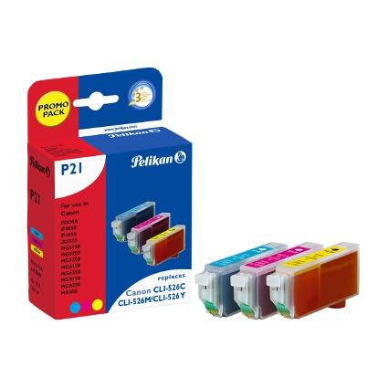 Pelikan Multi-Pack Tinte 4106650 ersetzt Canon CLI-526C/