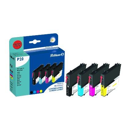 Pelikan Multi-Pack Tinte 4106902 ersetzt brotherLC-685BK/