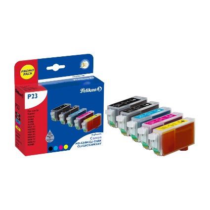 Pelikan Multi-Pack Tinte 4107527 ersetzt Canon PGI-525BK/