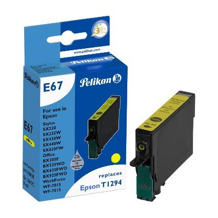 Pelikan Tinte 4108630 ersetzt EPSON T1294, gelb