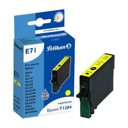 Pelikan Tinte 4108937 ersetzt Epson T1284, gelb