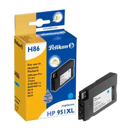 Pelikan wiederbefüllte Tinte 4109064 ersetzt hp 951XL, cyan