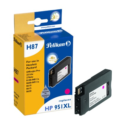 Pelikan wiederbefüllte Tinte 4109071 ersetzt hp 951XL
