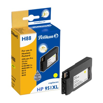 Pelikan wiederbefüllte Tinte 4109088 ersetzt hp 951XL, gelb
