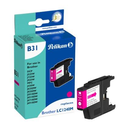Pelikan Tinte 4109132 ersetzt brother LC1240M, magenta