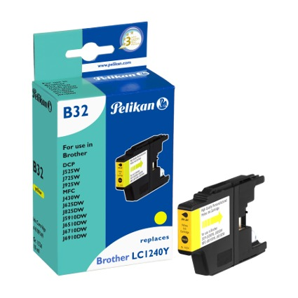 Pelikan Tinte 4109147 ersetzt brother LC1240Y, gelb