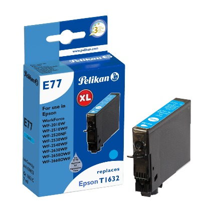 Pelikan Tinte 4109453 ersetzt EPSON T1632, cyan