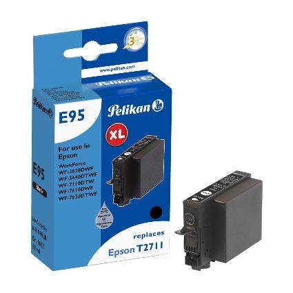 Pelikan Tinte 4109620 ersetzt EPSON T2711, schwarz