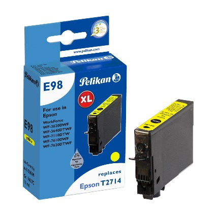 Pelikan Tinte 4109699 ersetzt EPSON T2714, gelb