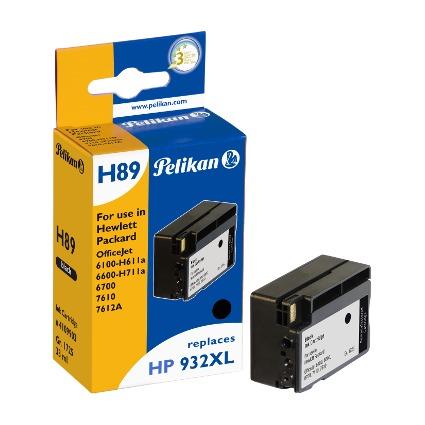 Pelikan wiederbefüllte Tinte 4109903 ersetzt HP 932 XL
